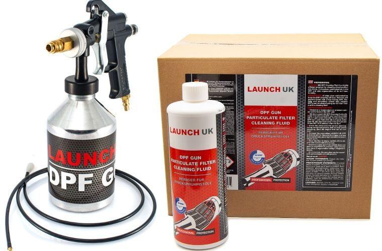 Half price Launch DPF cleaning gun