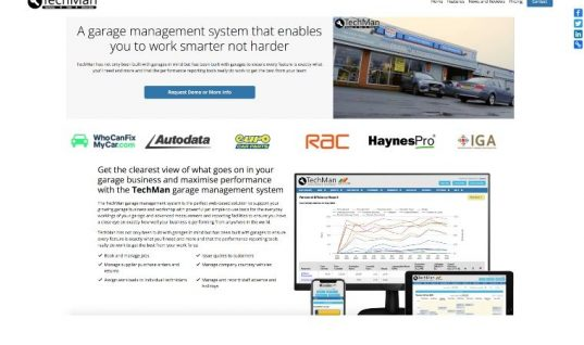 New TechMan website launched to reflect ongoing garage management system development