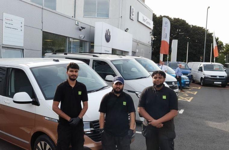 VW Van dealership kickstarts careers for automotive college leavers with Autotech Academy