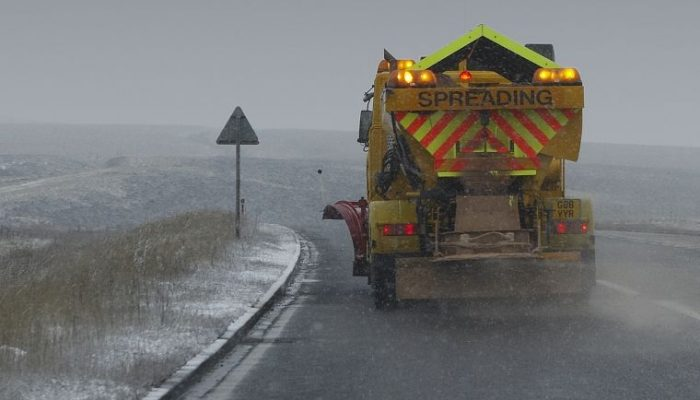 Gritter driver shortage could see roads become more dangerous this winter